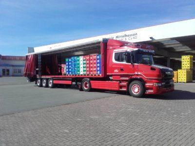 Getränketransporte